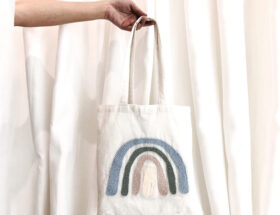 tote bag punch needle
